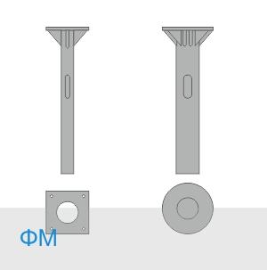 ФМ-0,219-2,5-420 фундамент