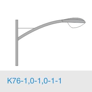 К76-1,0-1,0-1-1 консольный однорожковый кронштейн