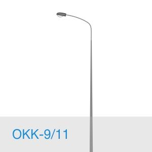 Опора освещения ОКК-9/11 в [gorod p=6]