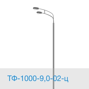 Силовая опора ТФ-1000-9,0-02-ц