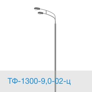 Силовая опора ТФ-1300-9,0-02-ц