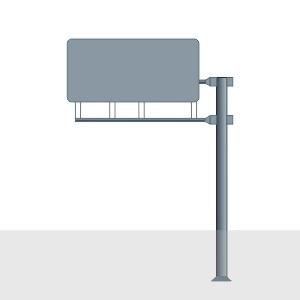 Рамные опоры дорожных знаков в [gorod p=6]