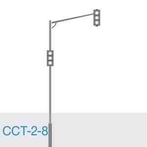 Стойка светофорная трубная ССТ-2-8