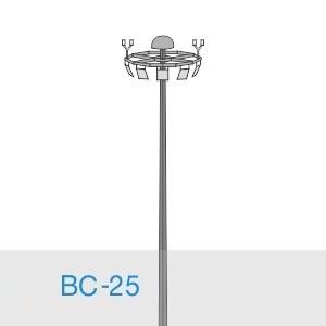Прожекторная мачта освещения ВС-25-А/24-II