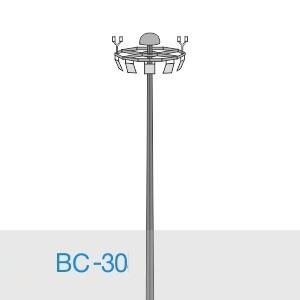 Прожекторная мачта освещения ВС-30-А2/48-II