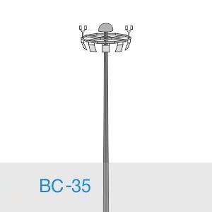Прожекторная мачта освещения ВС-35-А2/48-II
